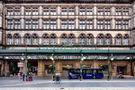 Glasgow exterior wide shot