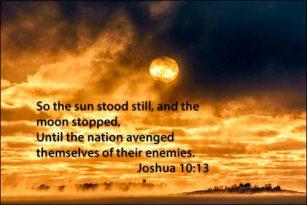 Sun Stood Still - Moon Stopped